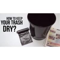 Mẹo hay giữ thùng rác luôn khô ráo